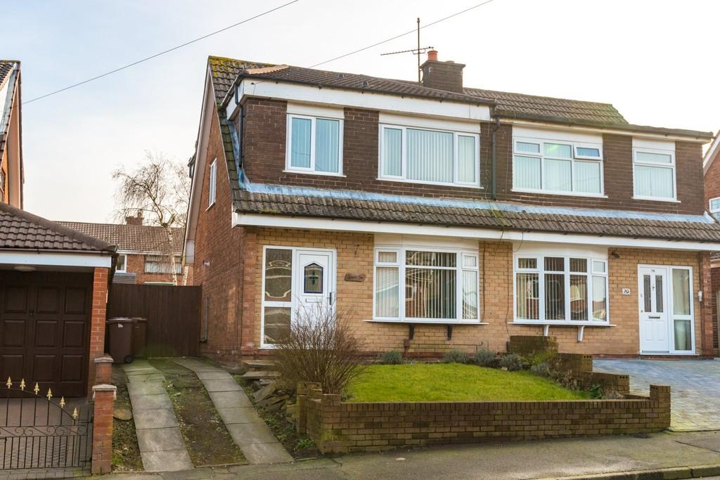 3 Bedrooms Semi Detached House for sale in Hinckley Road, Laffak, St. Helens