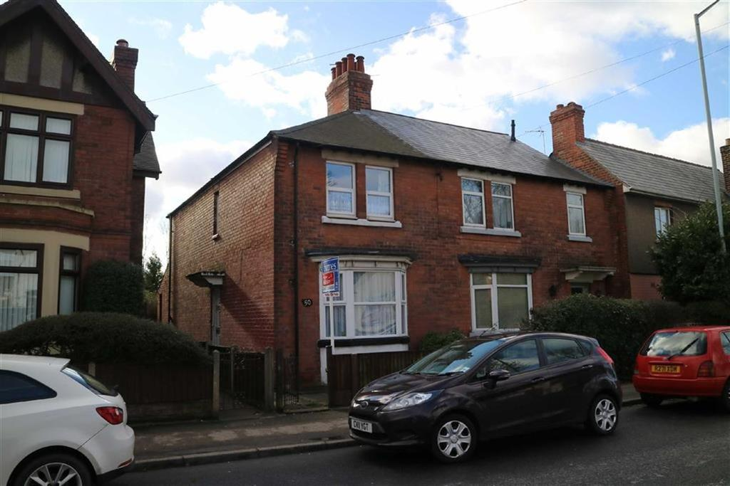 2 Bedrooms Semi Detached House for sale in 50, Station Road, Sutton In Ashfield, Notts, NG7