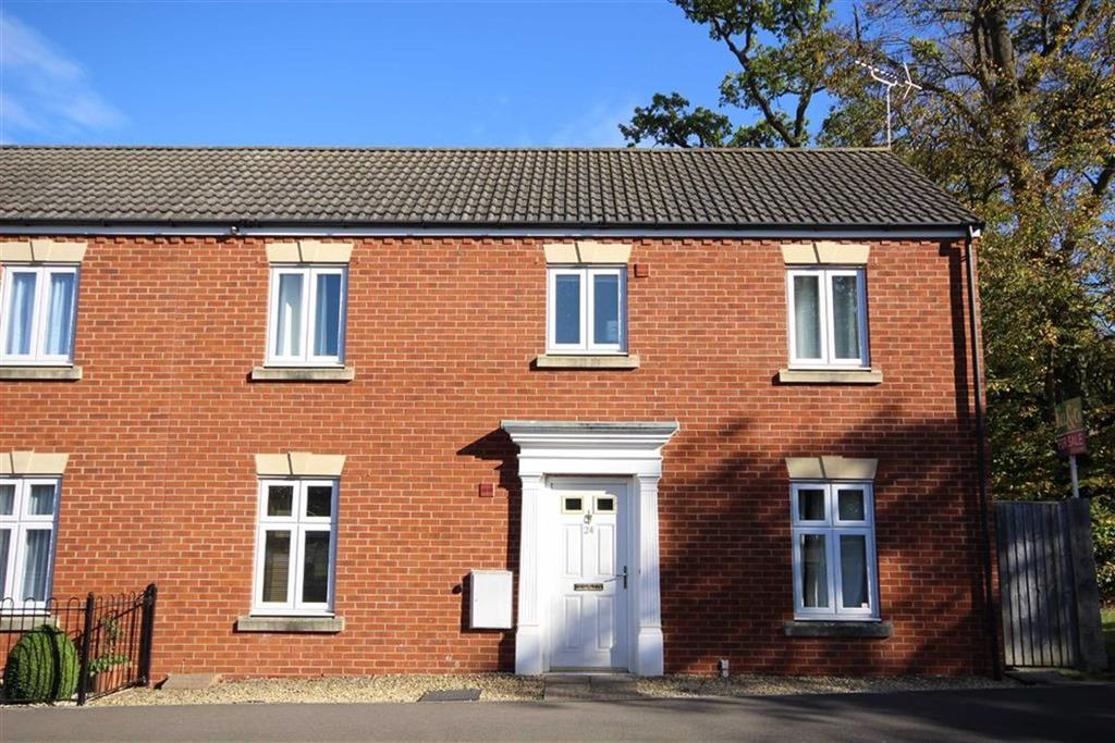 3 Bedrooms Semi Detached House for sale in Sir Charles Irving Close, The Park, Cheltenham, GL50