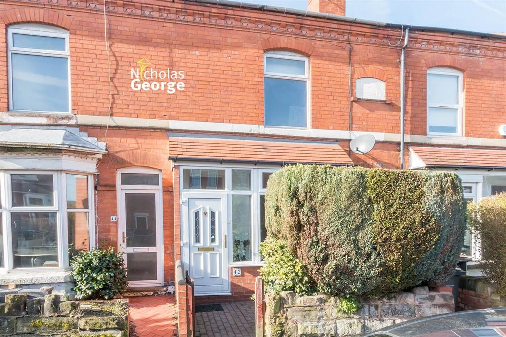 2 Bedrooms Terraced House for sale in Melton Road, Kings Heath, Birmingham, B14 7DA