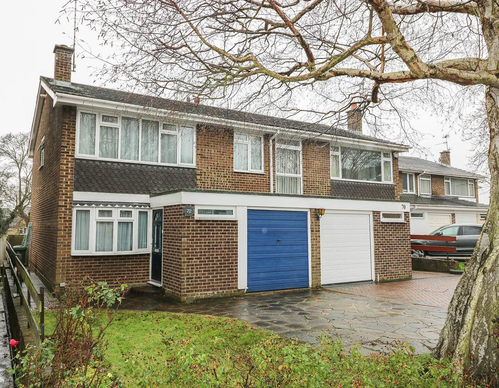 4 Bedrooms Semi Detached House for sale in Meadow Rise , Billericay CM11