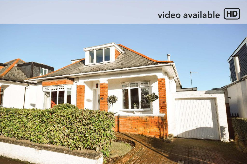 4 Bedrooms Detached Bungalow for sale in Netherhill Avenue, Netherlee, Glasgow, G44 3XF