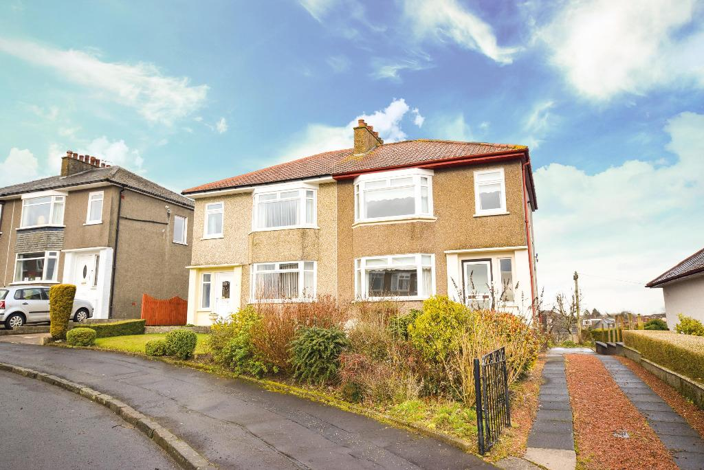 3 Bedrooms Semi Detached House for sale in Craighill Drive, Clarkston, Glasgow, G76 7TF