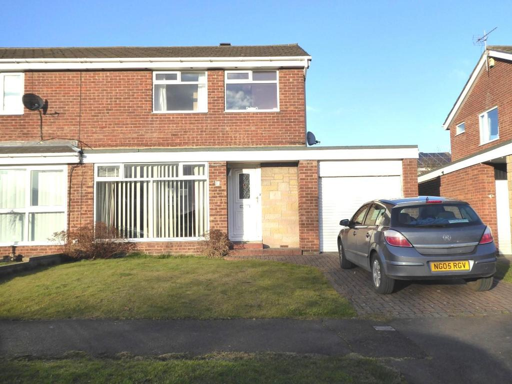 3 Bedrooms Semi Detached House for sale in Tweed Avenue, Ellington, Morpeth