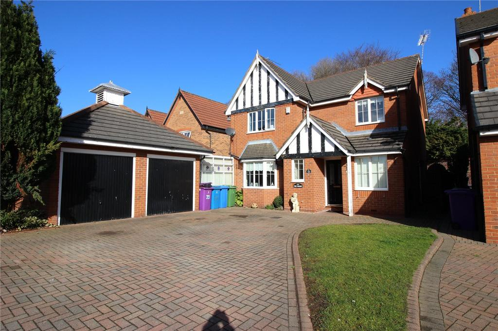 4 Bedrooms Detached House for sale in The Bryceway, Liverpool, Merseyside, L12