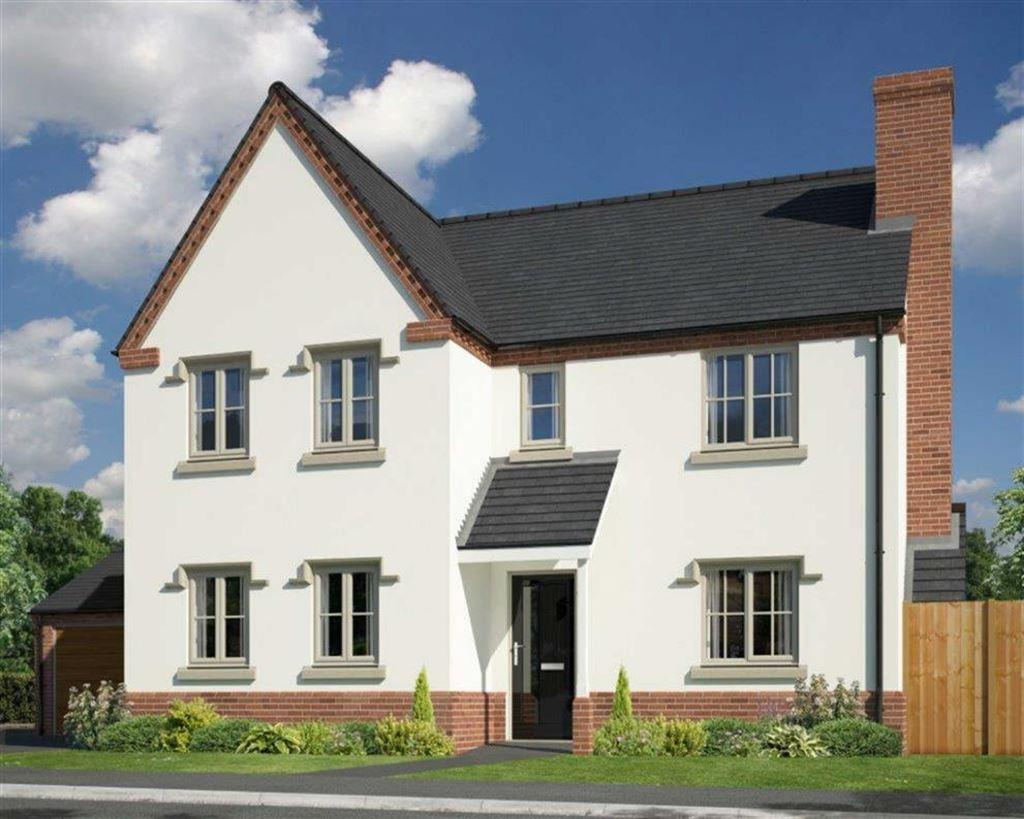 4 Bedrooms Detached House for sale in Plot 31, The Fenemere, Berrington Meadows, Cross Houses, SY5