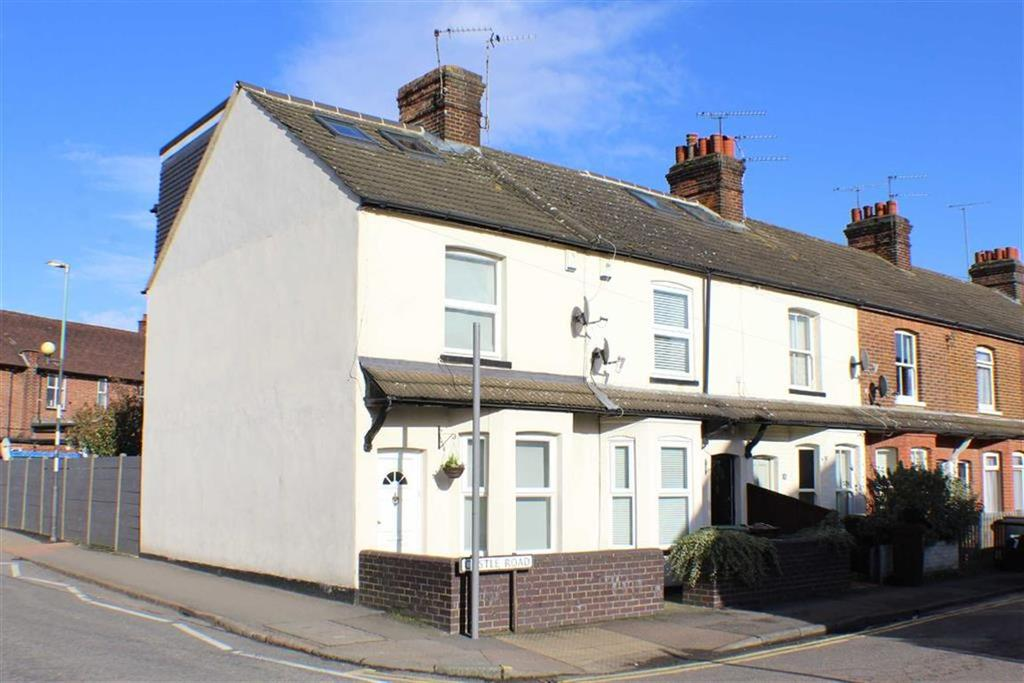 3 Bedrooms End Of Terrace House for sale in Castle Road, St Albans, Hertfordshire