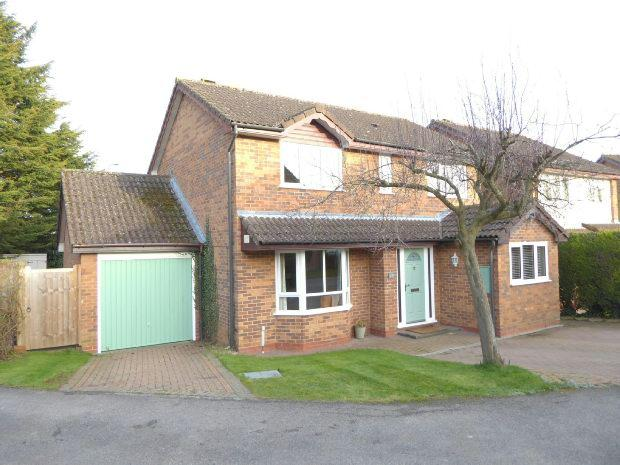 4 Bedrooms Detached House for sale in Powys Grove, Banbury