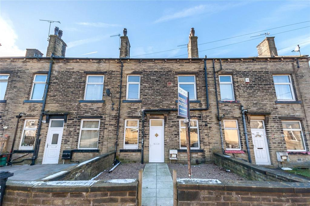 3 Bedrooms Terraced House for sale in Claremount Road, Halifax, West Yorkshire, HX3