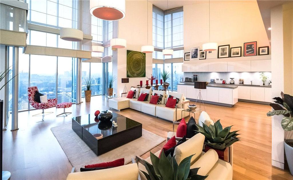 3 Bedrooms Penthouse Flat for sale in The Orion Building, 90 Navigation Street, Birmingham City Centre, West Midlands, B5