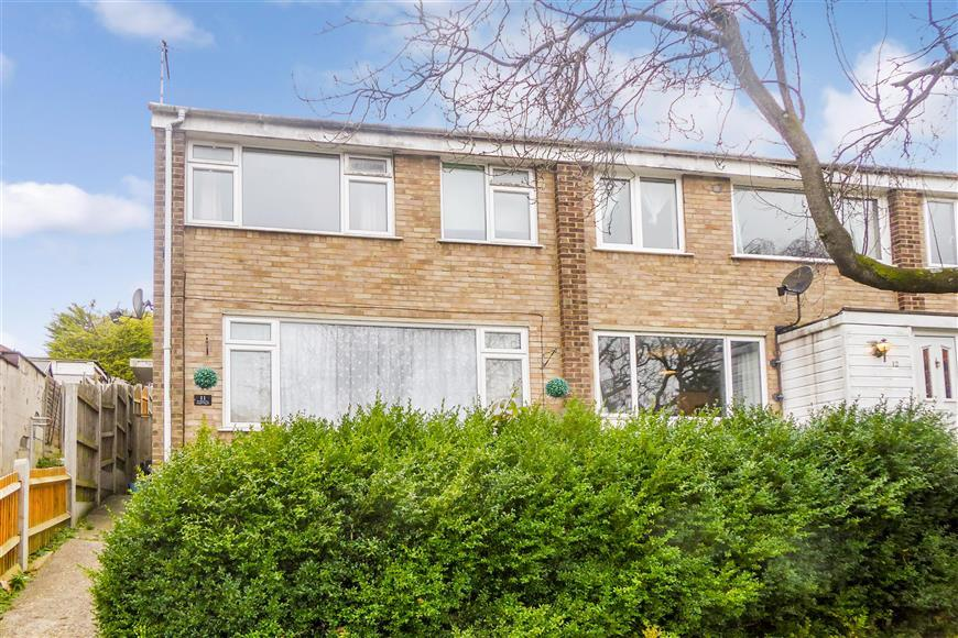 3 Bedrooms End Of Terrace House for sale in Broadlands Drive, Walderslade, Chatham, Kent