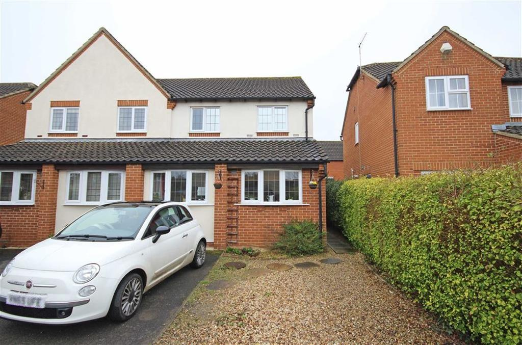 3 Bedrooms Semi Detached House for sale in Cutsdean Close, Bishops Cleeve, Cheltenham, GL52