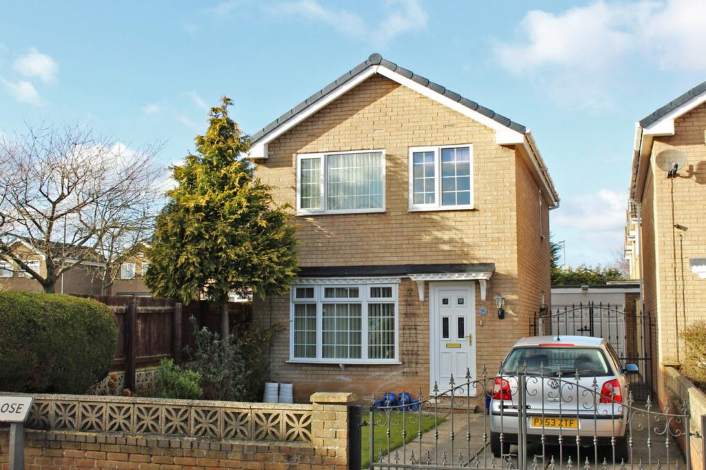 3 Bedrooms Detached House for sale in Belsay Close, Stockton-on-Tees, TS19