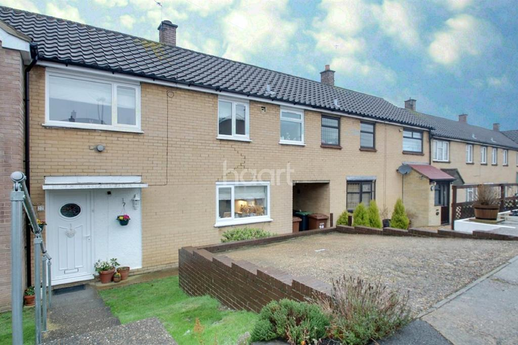 3 Bedrooms Terraced House for sale in Campion Close, Walderslade