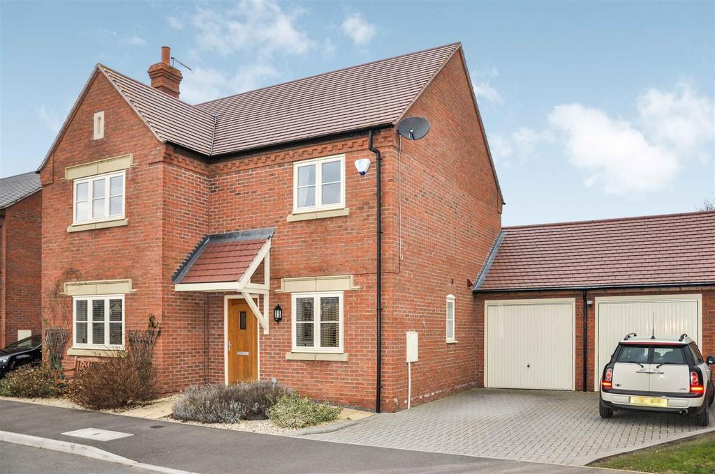 4 Bedrooms Detached House for sale in Ridgley Way, Harbury, Leamington Spa
