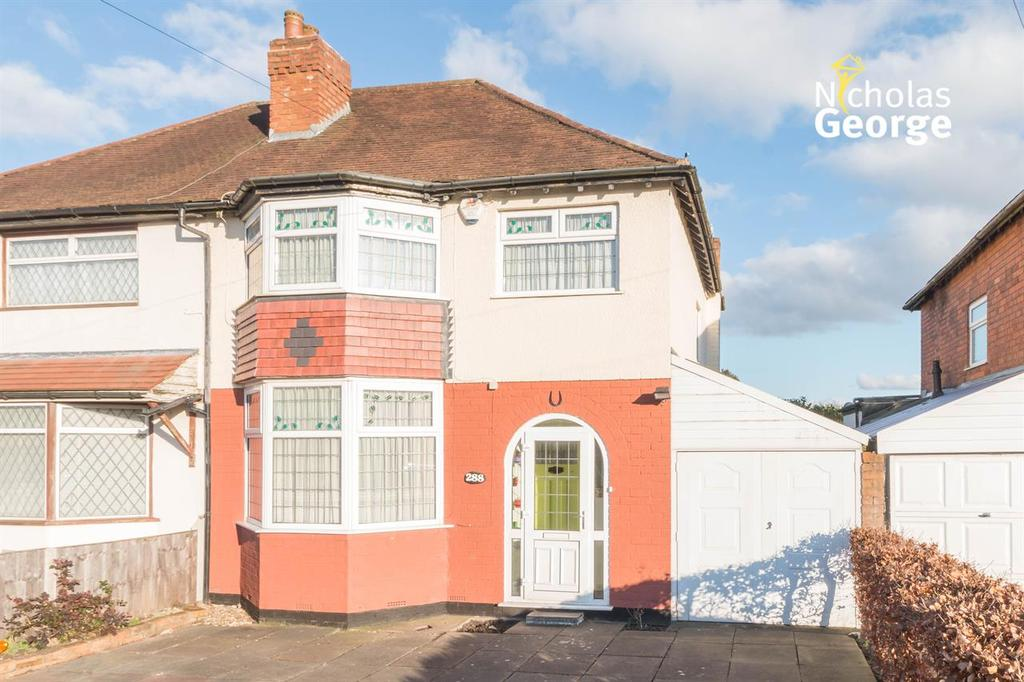 3 Bedrooms Semi Detached House for sale in Prince of Wales Lane, Solihull Lodge, Birmingham, B14 4LL