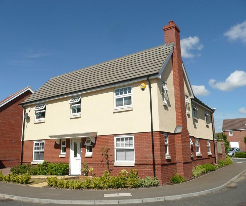 4 Bedrooms Detached House for sale in Robin Close, Queens Hills, Norwich