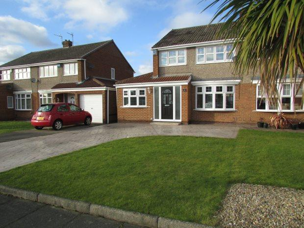 3 Bedrooms Semi Detached House for sale in INGHAM GROVE, FENS, HARTLEPOOL