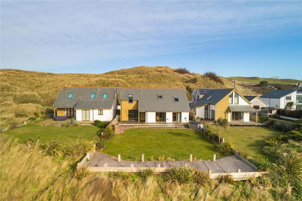 4 Bedrooms Detached House for sale in Perran Beach Dunes, Perranporth, Cornwall, TR6
