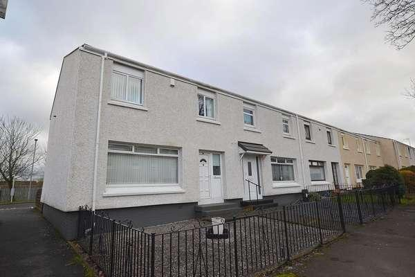 3 Bedrooms End Of Terrace House for sale in 36 Ettrick Court, Cambuslang, Glasgow, G72 7YG