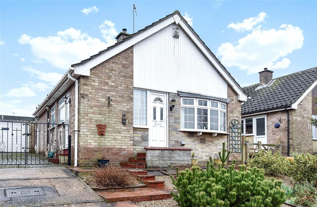 2 Bedrooms Detached Bungalow for sale in High Meadow, Grantham, NG31