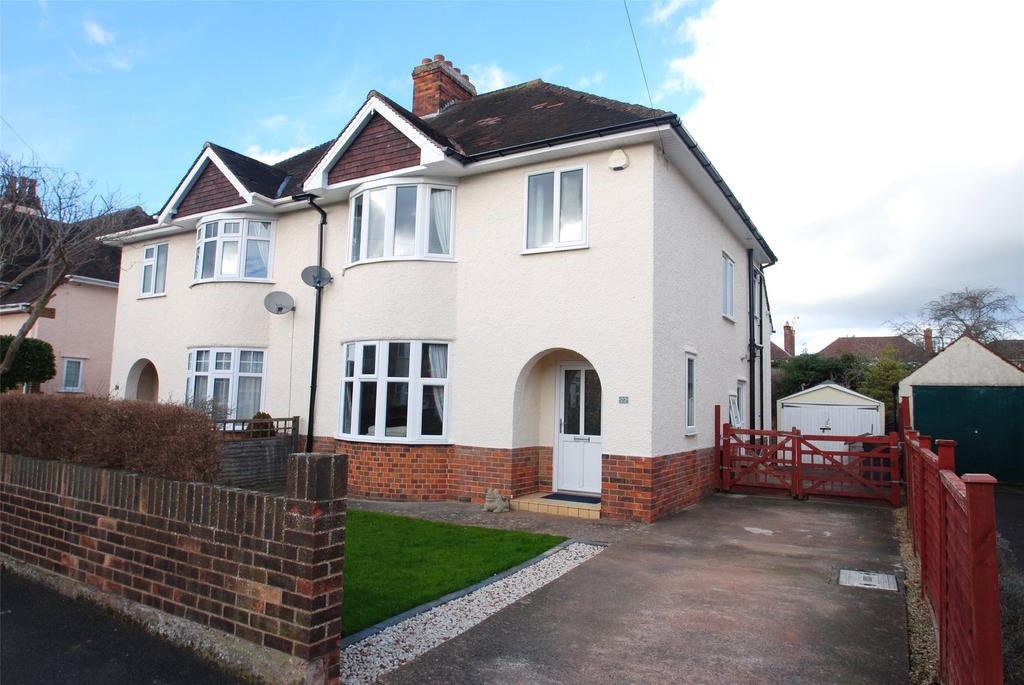 3 Bedrooms Semi Detached House for sale in Manor Road, Taunton