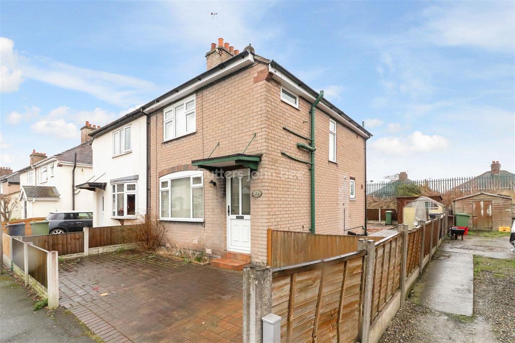 3 Bedrooms Semi Detached House for sale in John Brunner Crescent, Northwich