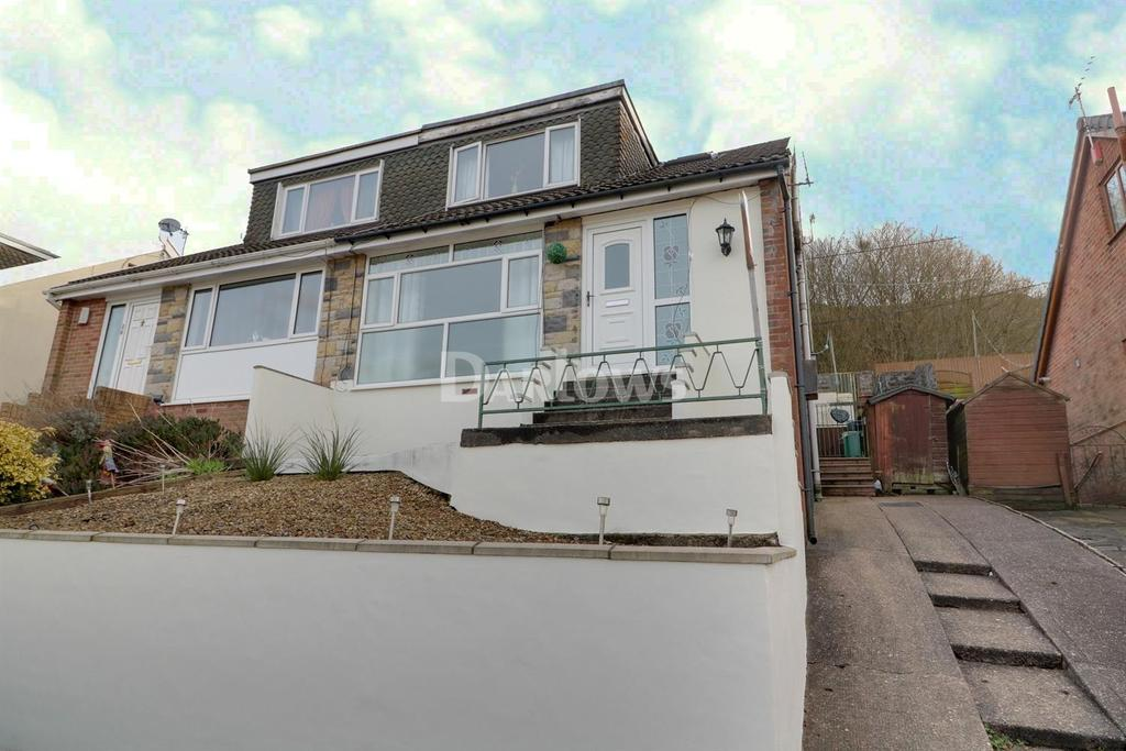 3 Bedrooms Semi Detached House for sale in Hillcrest Drive, Porth