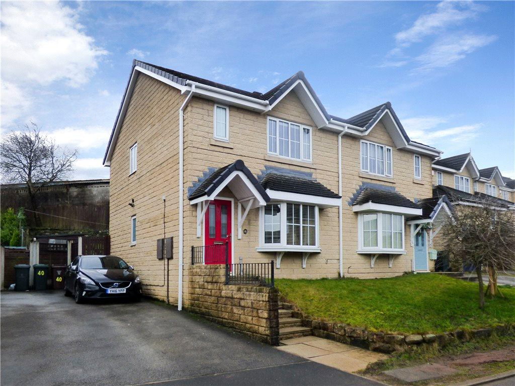 3 Bedrooms Semi Detached House for sale in Steadings Way, Keighley, West Yorkshire