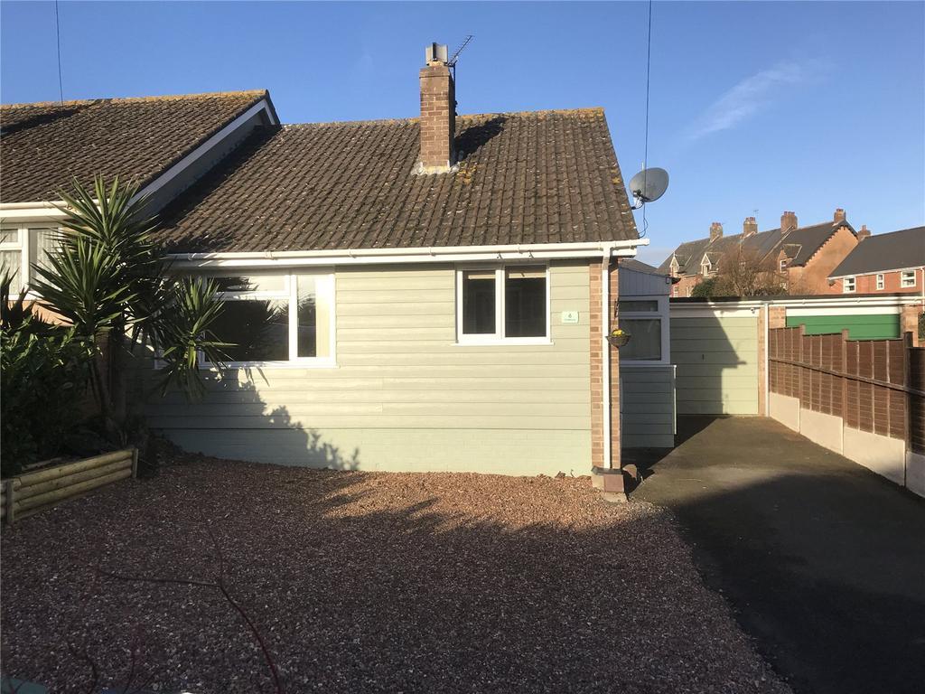 2 Bedrooms Semi Detached Bungalow for sale in Greenway, Watchet, Somerset, TA23