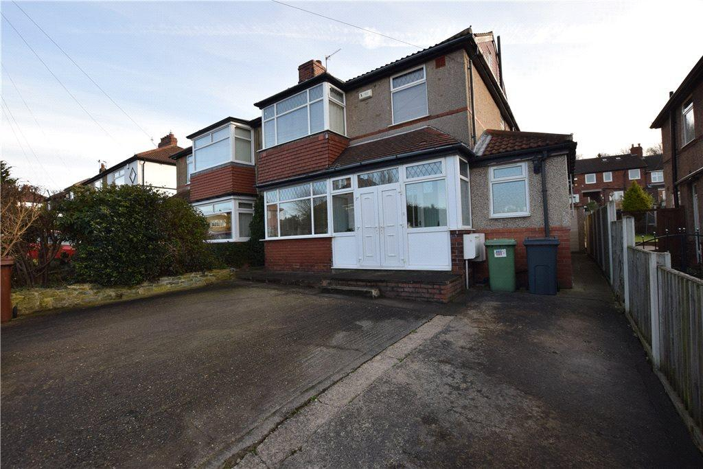 4 Bedrooms Semi Detached House for sale in Blue Hill Lane, Wortley, Leeds