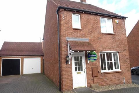 3 bedroom detached house for sale - Applebees Meadow, Hinckley