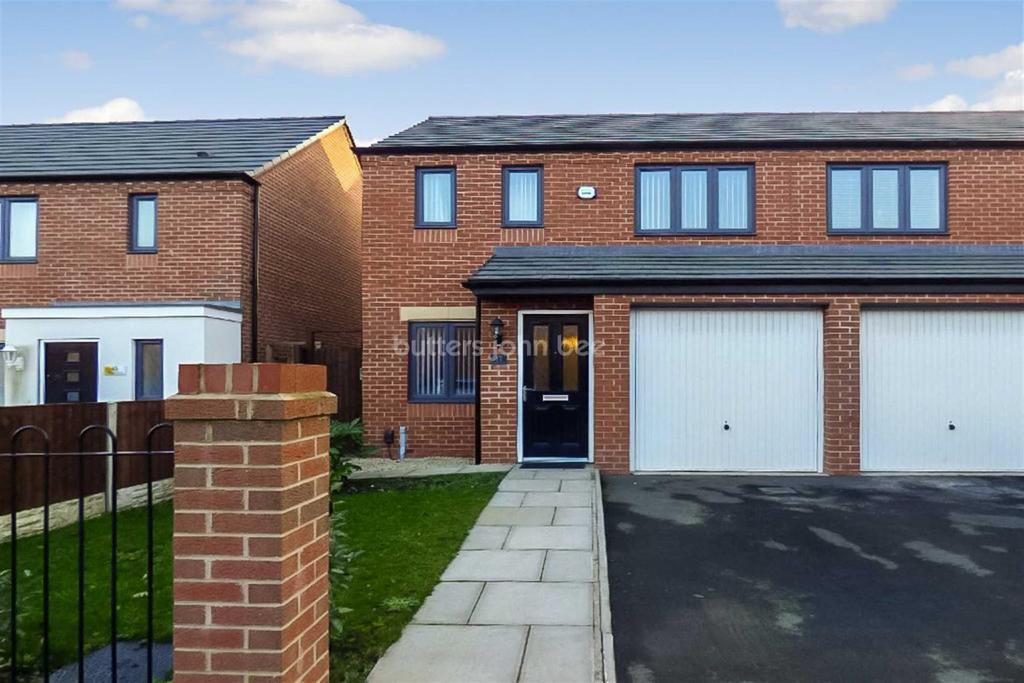 3 Bedrooms Semi Detached House for sale in Northolt Drive, Ettingshale, Wolverhampton