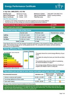 2 bedroom terraced house to rent - 8 High Gale, Ambleside, Cumbria LA22 0BJ