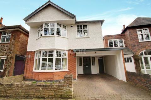 4 bedroom detached house for sale - Western Park Road, Western Park, Leicester