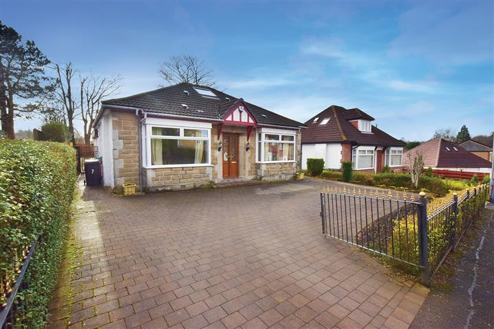 3 Bedrooms Detached Bungalow for sale in 7 Hillside Avenue, Bearsden, G61 3QD