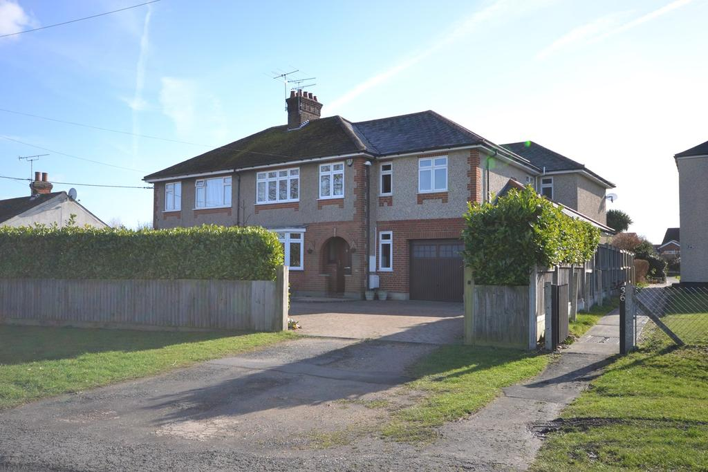 5 Bedrooms Semi Detached House for sale in Watchouse Road, Galleywood, Chelmsford, CM2