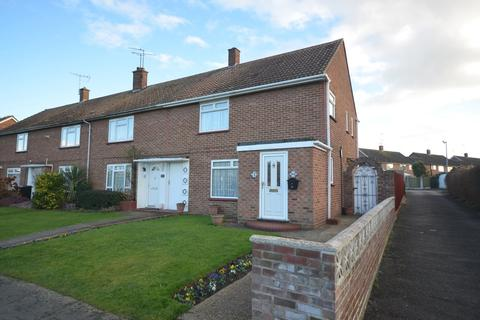3 bedroom end of terrace house for sale - Laurence Avenue, Witham, CM8 1JB