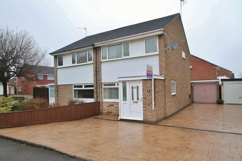 3 Bedrooms Semi Detached House for sale in Campion Grove, Marton