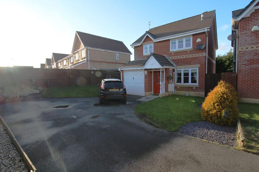 3 Bedrooms Detached House for sale in Caplin Close