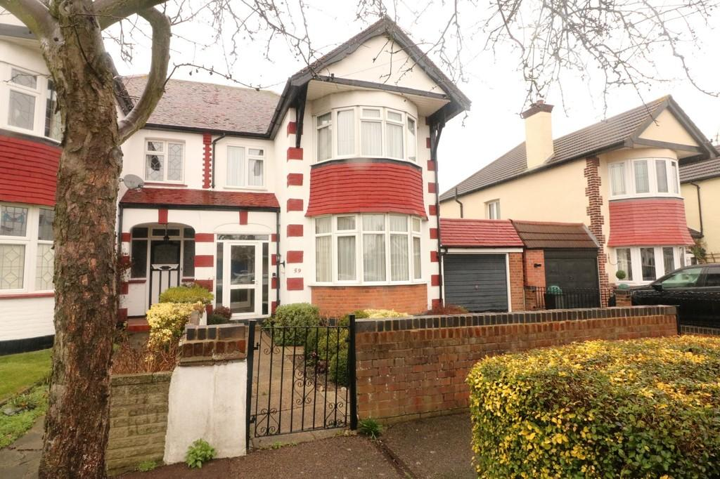 3 Bedrooms Semi Detached House for sale in Henry Drive, Leigh-on-Sea