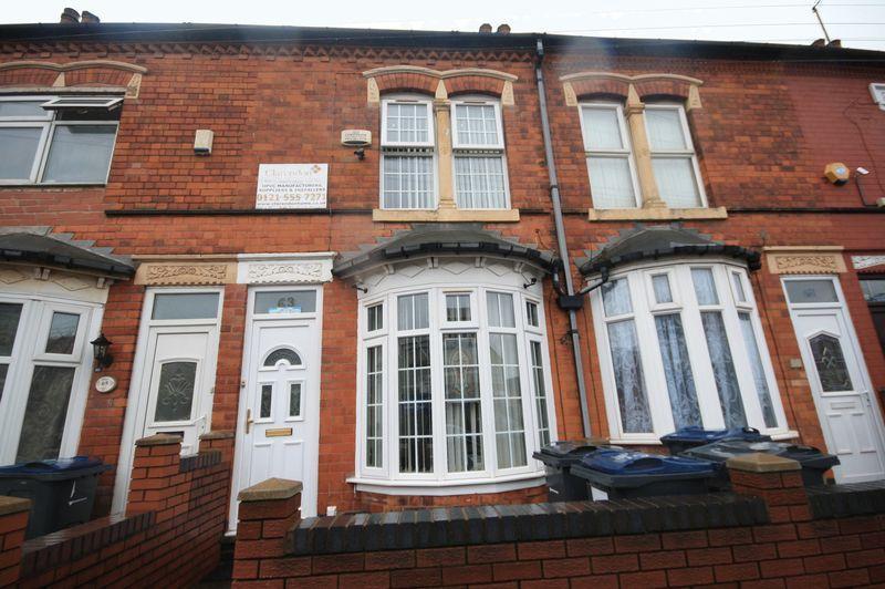 2 Bedrooms Terraced House for sale in Cobham Road, Birmingham