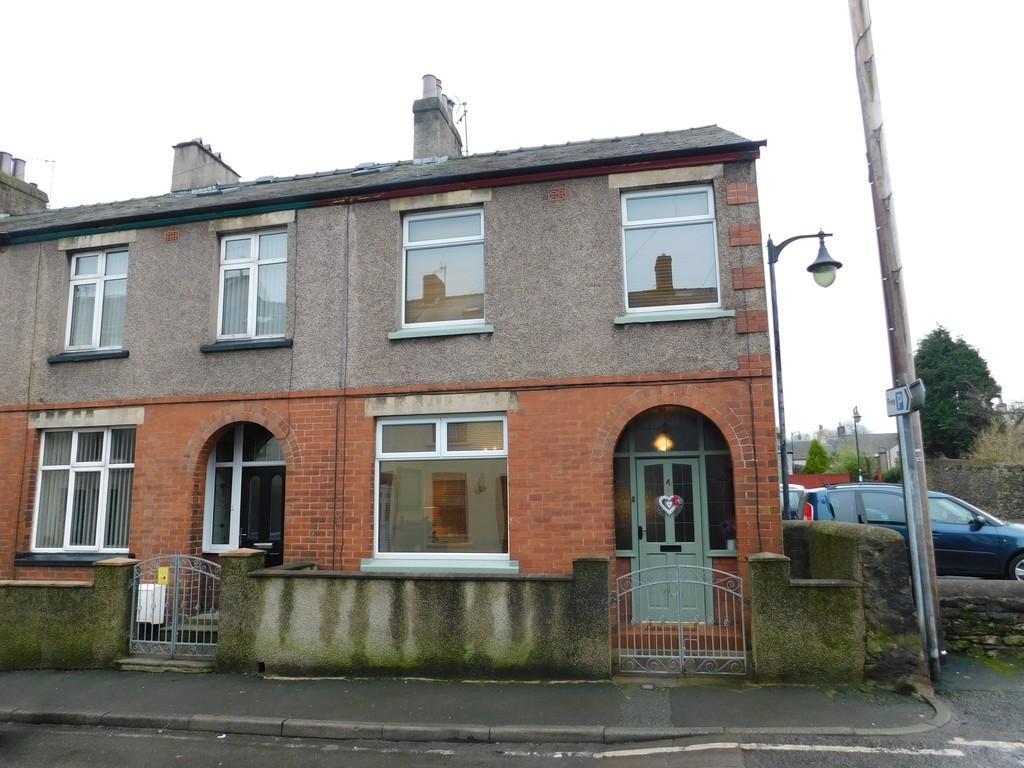 3 Bedrooms End Of Terrace House for sale in Chapel Street, Dalton-in-Furness LA15 8BY