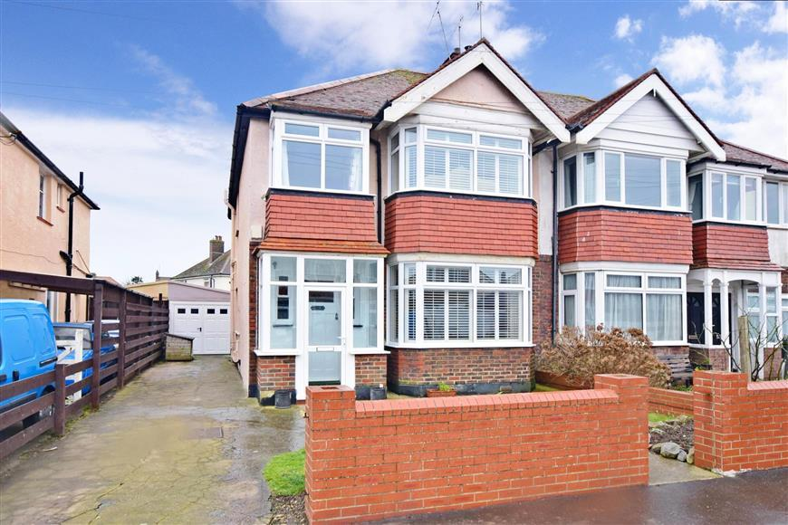 3 Bedrooms Semi Detached House for sale in Thalassa Road, Worthing, West Sussex