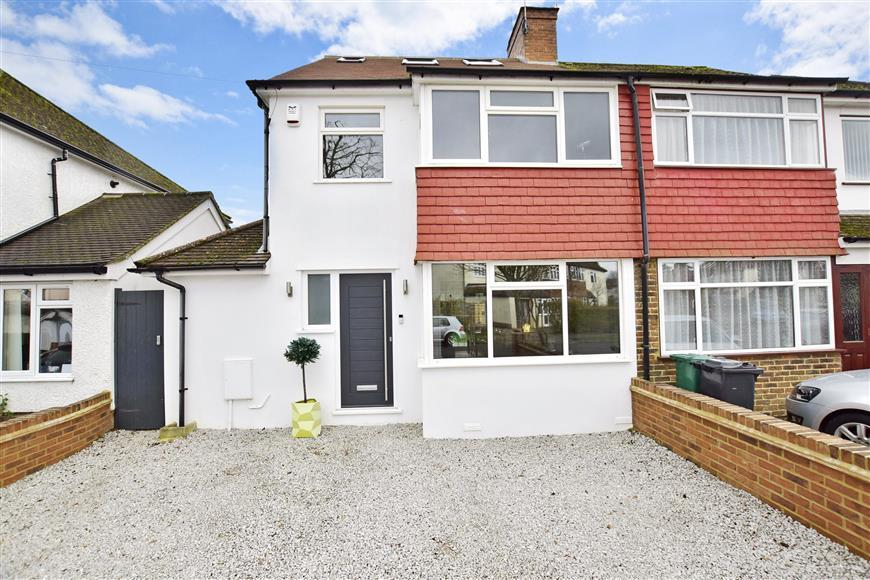 4 Bedrooms Semi Detached House for sale in Hartswood Avenue, Reigate, Surrey
