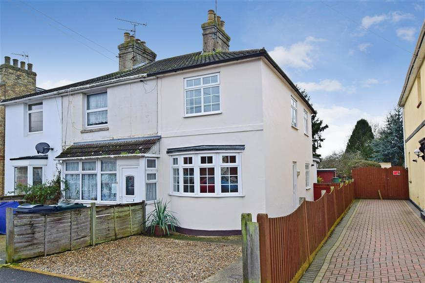 2 Bedrooms End Of Terrace House for sale in Cudworth Road, South Willesborough, Ashford, Kent