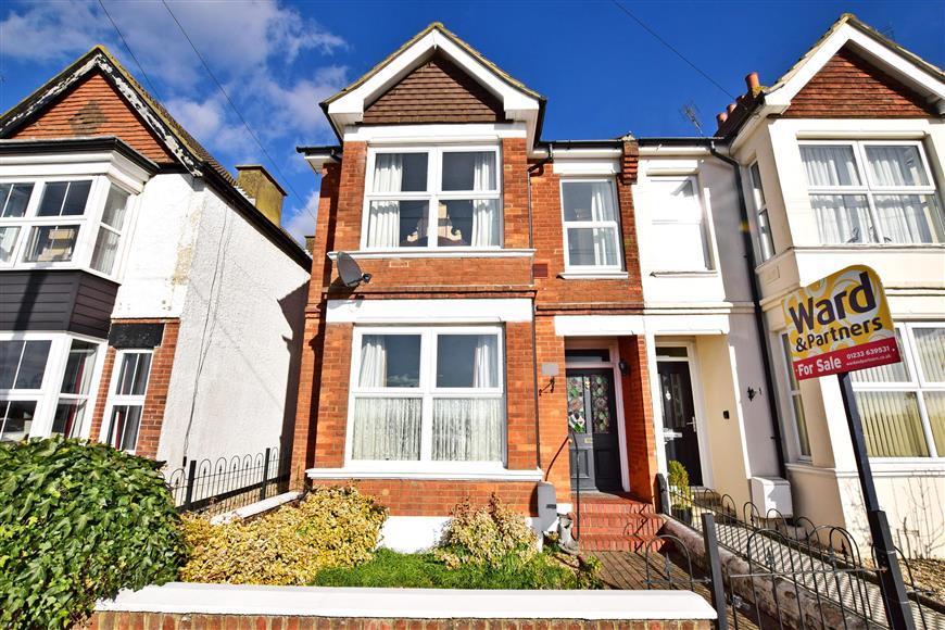 4 Bedrooms Semi Detached House for sale in Sackville Crescent, Ashford, Kent