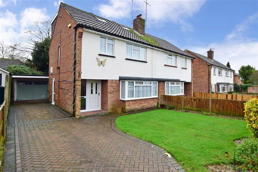 4 Bedrooms Semi Detached House for sale in Highfield Road, Willesborough, Ashford, Kent