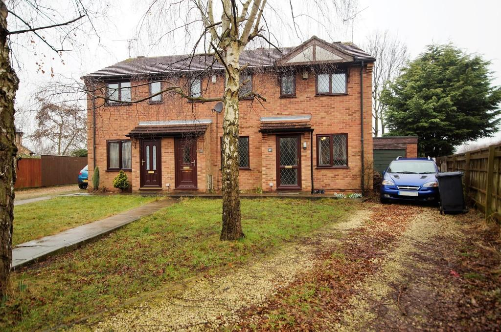 2 Bedrooms Semi Detached House for sale in St. Matthews Close, Lincoln