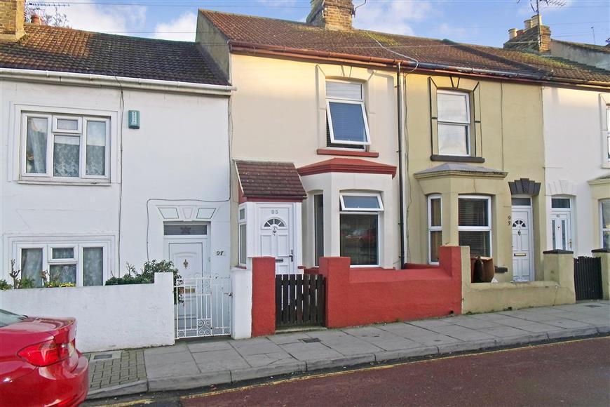 3 Bedrooms Terraced House for sale in Gardiner Street, Gillingham, Kent